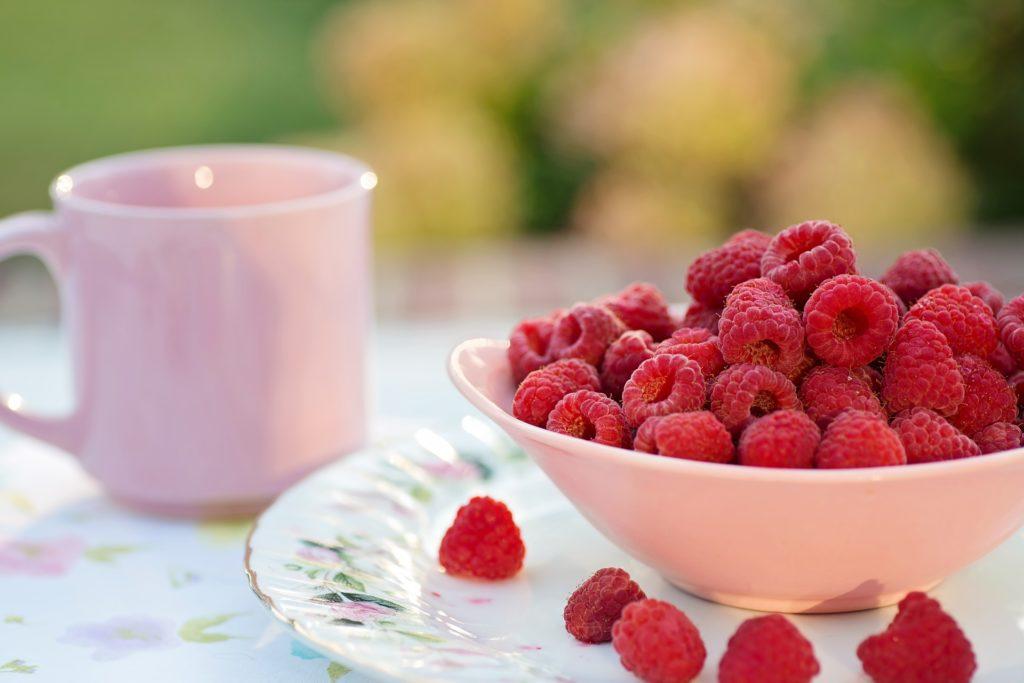 Beeren mit Antioxidantien für die Haut