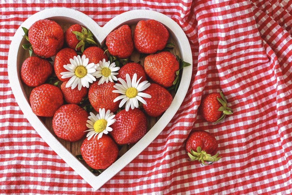 Beeren mit gesunden Antioxidantien